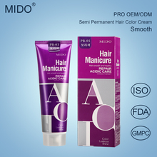 China Factory Private Label No Ammonia Dye Products Hair Manicure/Hair Color Cream With Wholesale Price