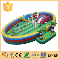 New arrival customized inflatale combo games
