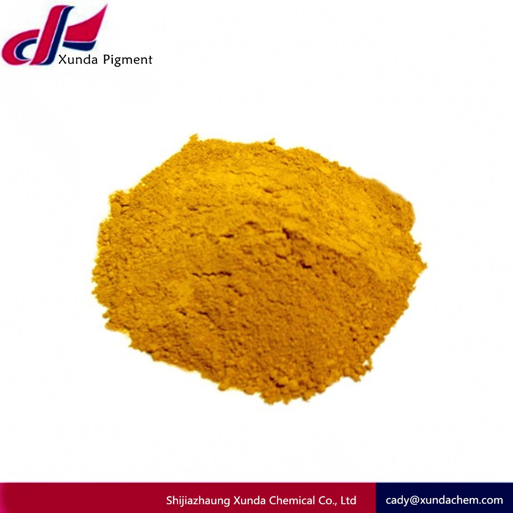 Iron oxide yellow color bitumen color asphalt