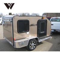 Timely Delivery Free Assembling Fiberglass Motorcycle Trailers