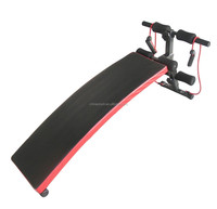 Curved Ab Sit up Bench Decline Abdominal Crunches Situp Bench Portable New Bench