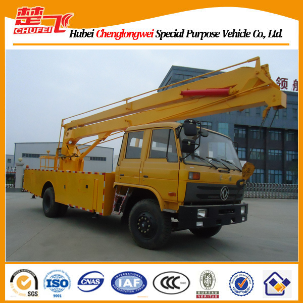 190HP Dongfeng 4x2 22m high up truck, aerial platform truck