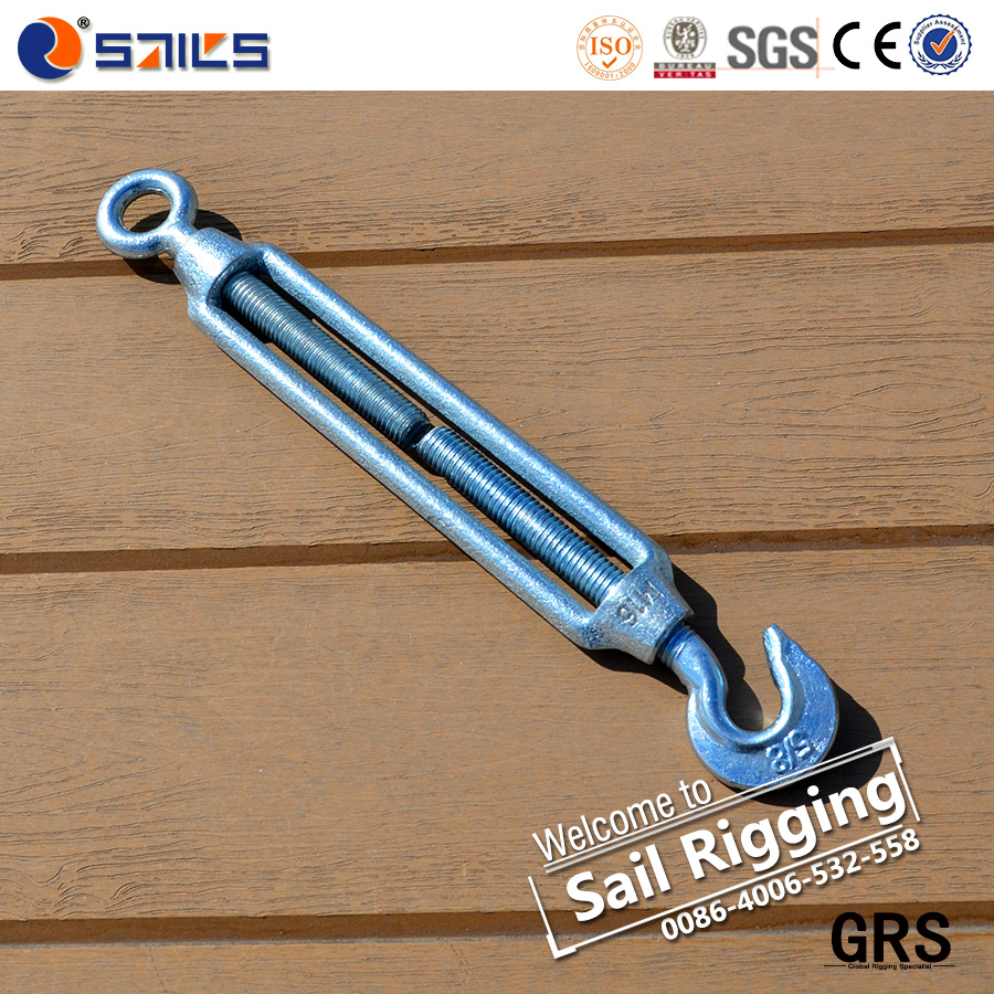 Malleable Iron Body Q235 Screw Commercial Turnbuckle CO Type