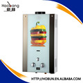12L wonderful forced gas water heater with colorful glass