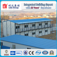 Building Site Low Cost Prefabricated House