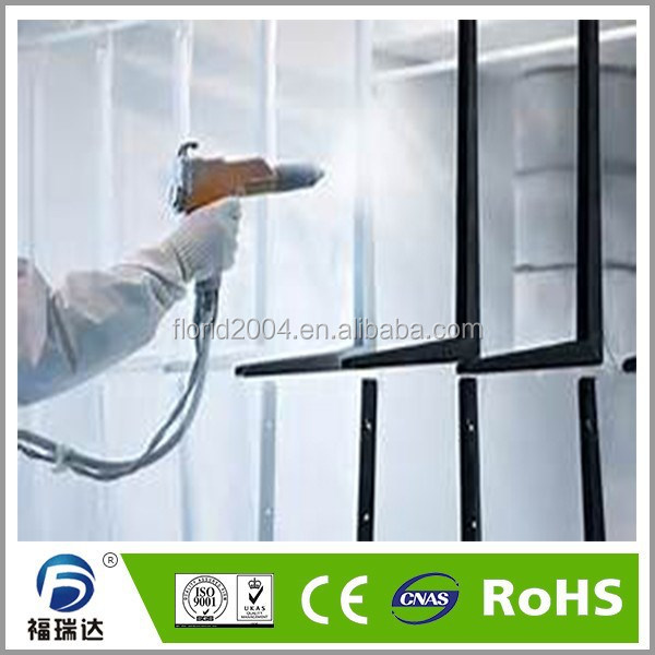 Heat Resisting electrostatic thermosetting spray to powder coating inteiror RAL paint color