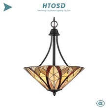 HTPN0013 Creative Products 2017 Decorative Tiffany Stained Glass Pendant lights Art Room lighting