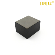 High Quality Black Plastic Cufflink and Tie Clip Box with Velvet Inserting