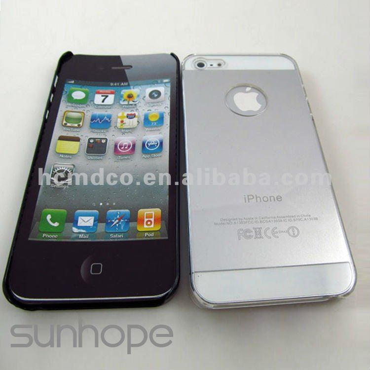hard plastic cover for iphone 5