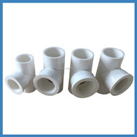Lower Price&good quality Plastic Pvc pipe saddle TEE