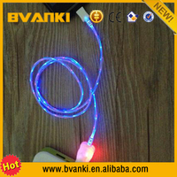 For Cellphone Colorful Charging And Sync Data High Quality LED USB Cable,USB Shielded High Speed Cable 2.0 For Microphone