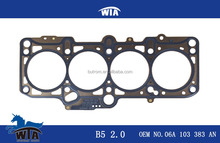 motor engine spare part B5 2.0 cylinder head 06A 103 383 AN