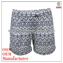 Newest Fashion Ladies Popular Printed Summer Hot Shorts Pictures