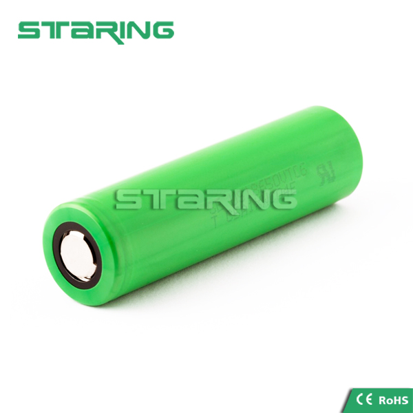 Japan made VTC6 battery 18650 3000mAh us18650 vtc6 in rechargeable battery 30amps 18650us vtc6 battery