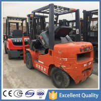 Isuzu Engine Material Handling Equipment 3 Ton CPCD30 Used Heli Forklift