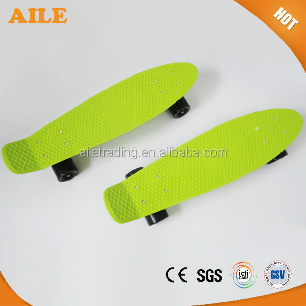 Excellent Quality Fresh Plastic Fish Skate Long Board
