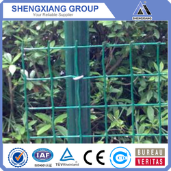 Factory price decorative PVC coated chain link euro fence
