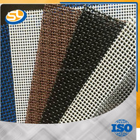 decorative wire mesh window screen Perforated Metal Anti-theft Window Screen,Security Window Screen