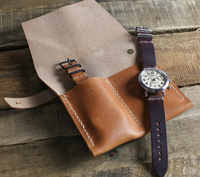 Hign Quality Leather Watch Travel Case Wholesale