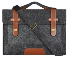 Felt Laptop Shoulder Bag 13-15 inch for MacBook Pro/ MacBook Air/ Notebook Computer