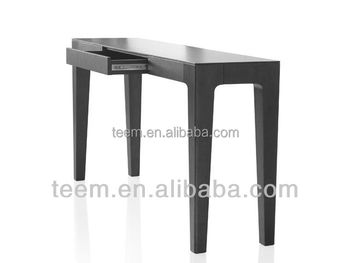 Divany Modern furniture wedding table skirting designs solid wood modern console table SD-24