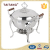 5 star hotel kitchen equipment stainless steel indian copper chafing dishes