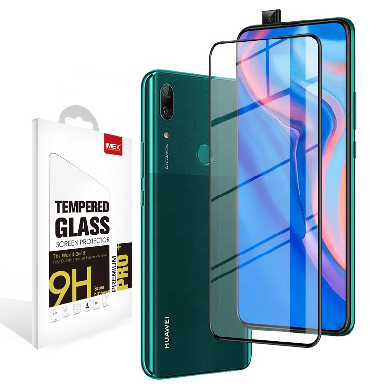 9D Full glue Tempered Glass Screen Protector For Huawei P smart <strong>Z</strong>