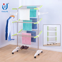 Multifunctional foldable lift laundry drying rack