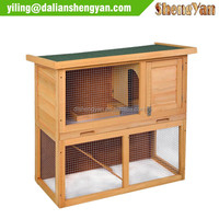 Chicken Coop Rabbit Hutch Wood House Pet Cage for Small Animals