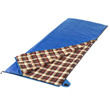 Outdoor ultra-Light camping waterproof polyester flannel sleeping bag (RSC 1616)