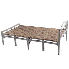 Single folding industrial metal beds with factory price