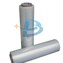 Hot sale 20mic Hand &ampmachine grade PE stretch film/wrap film jumbo roll with high quality