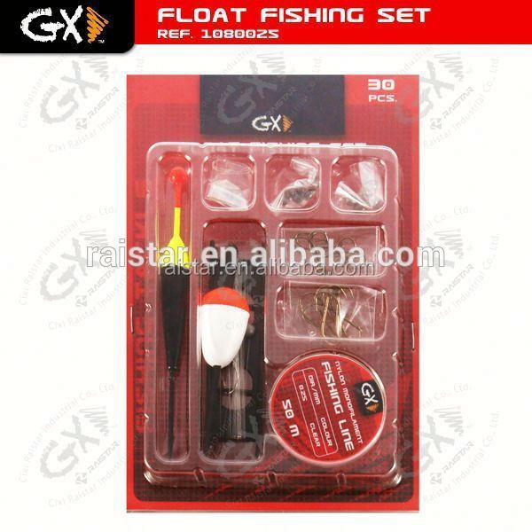 Fishing accessory float set and fish hook cover fishing tackle