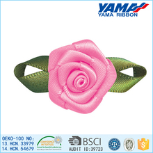 Fabric flowers hair ties hair ornaments for women