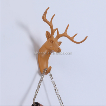 New Home Decorative Resin Animal Wall Hook and Hangers