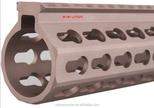 Super Slim Free Float keymod Compatible quad Rail handguards