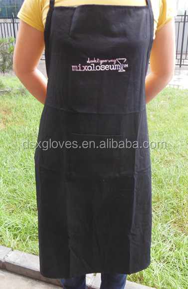 Custom Strip Audlt Apron waitress aprons bib garden aprons with pockets to decorate