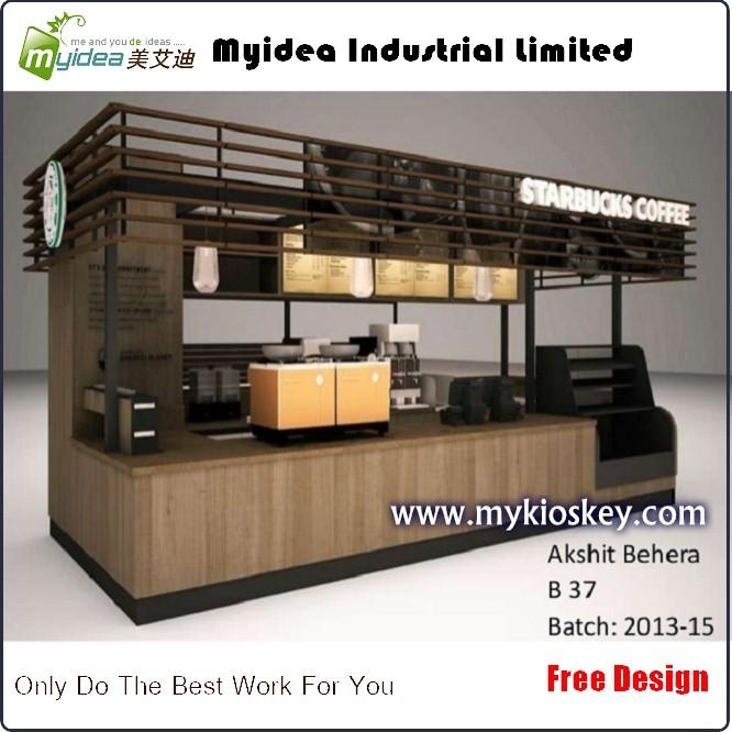 Outdoor coffee kiosks 3d design retail starbucks coffee for Exterior kiosk design