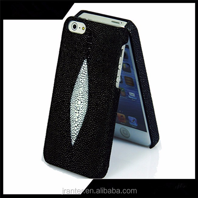 Luxury Custom Genuine Stingray Leater Cover Case for iphone 6s plus/6S