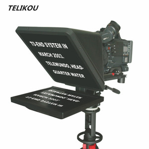 Big Sale!!! TELIKOU TF-17 17inch Studio Teleprompter with hard strong reflector for announcer man , speech conference