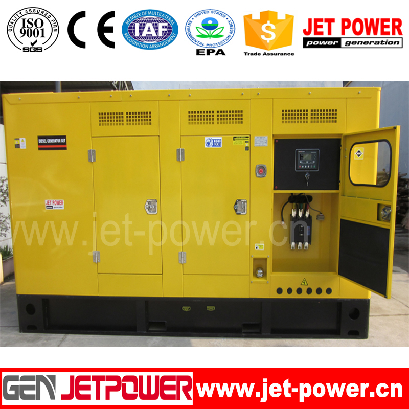 P-385 three phase Reliable quality UK engine 2206C-E13TAG2 350KVA diesel generator 280kw soudproof generator