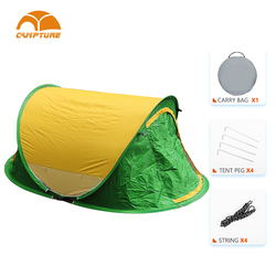 Cheap Nice Quick Set Up Tent Unique Colorful Camping Tents 1-2 Person Pop Up Wholesale