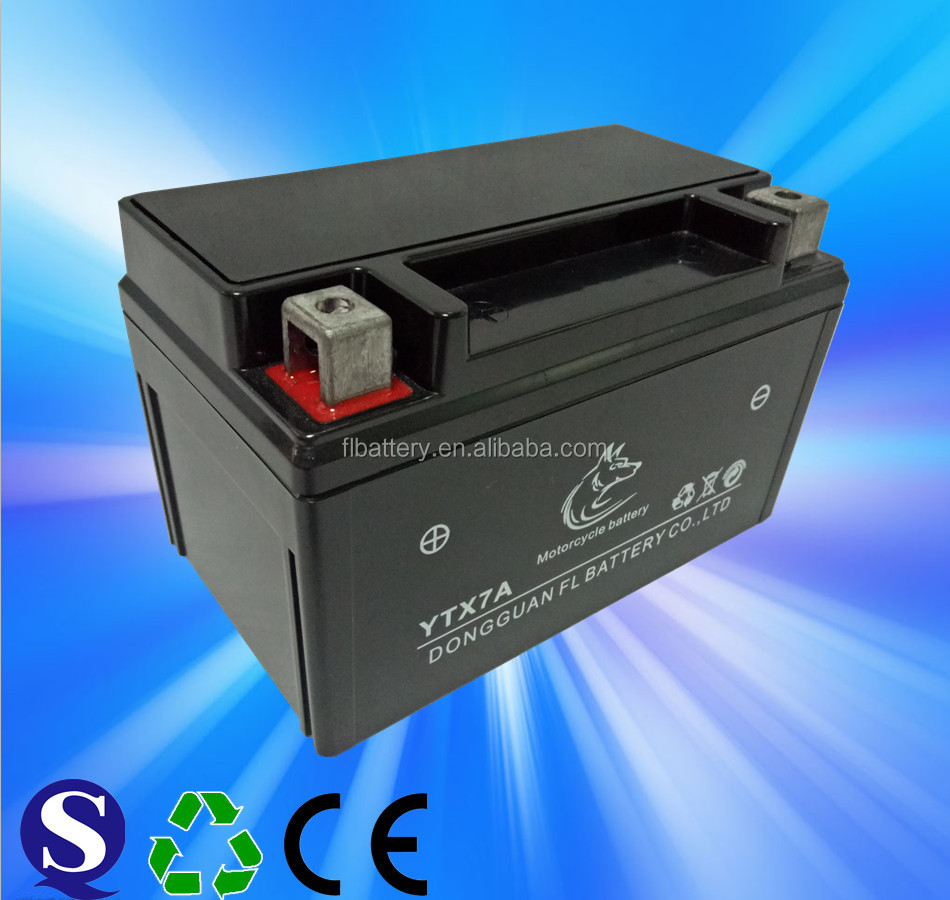 12V12AH maintenance free motorcycle battery for motorcycle,ATV,scooter,Jet skis