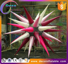 New design hanging led lamp inflatable stars