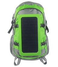 Versatile Business 35L Backpack Waterproof 6.5W Solar Outdoor Traveling Hiking Back Pack Bag