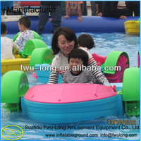 Fwu-long water jet boat engine for inflatble swimming pool