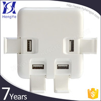 New style multi usb port table phone charger 5v 3a 4a 8a usb charger adapter with OEM logo