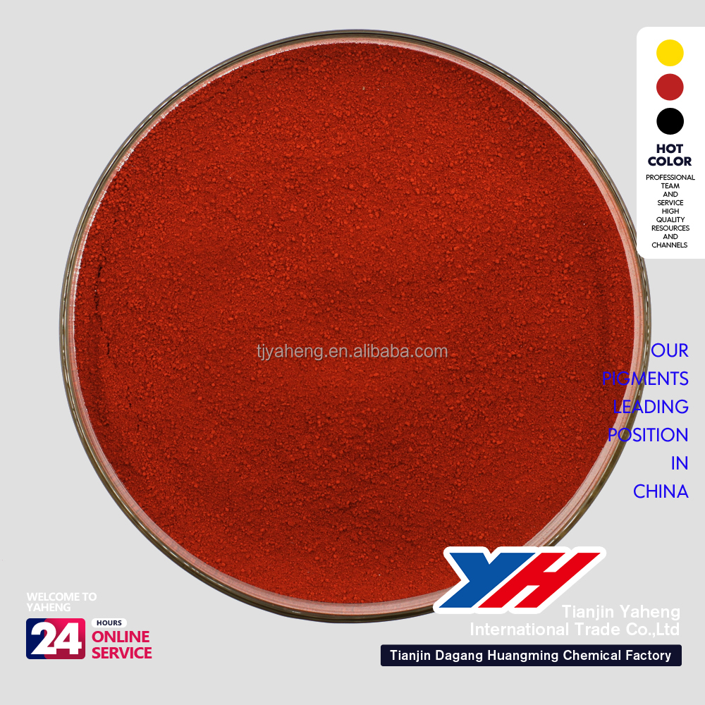 high temperature iron oxide red paints powder for coating