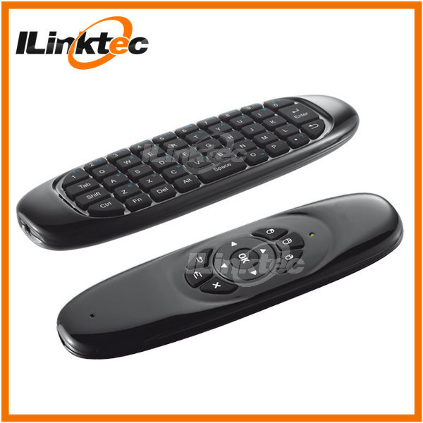 2017 Hot selling mini wireless keyboard rf air mouse remote control for smart tv samsung