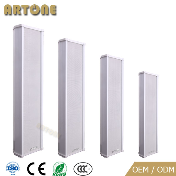 PA System 60w 80w 100w 120w Outdoor Column Sound aluminium speaker